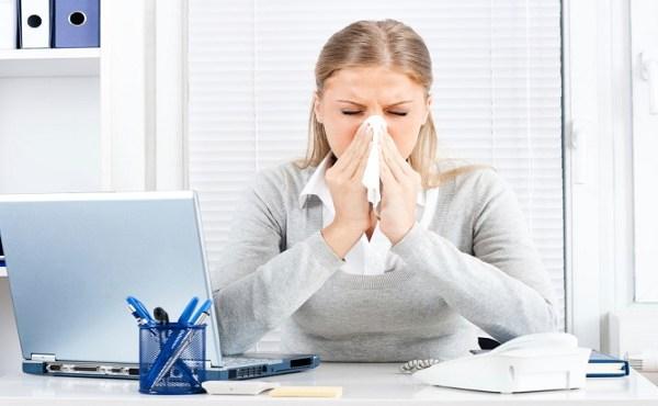 Businesswoman flu_187637