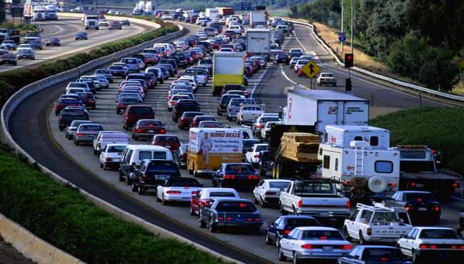 Heavy Freeway Traffic_177701