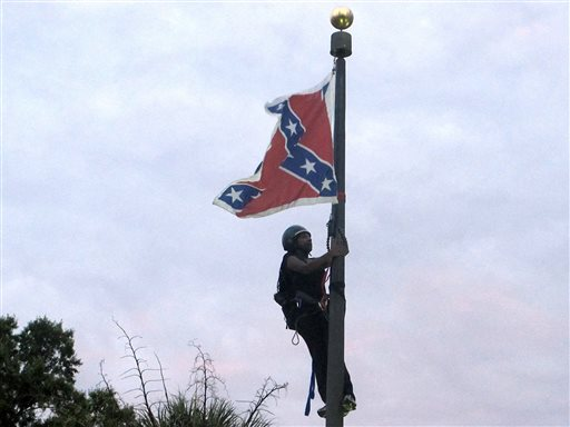APTOPIX Charleston Shooting Confederate Flag_220567