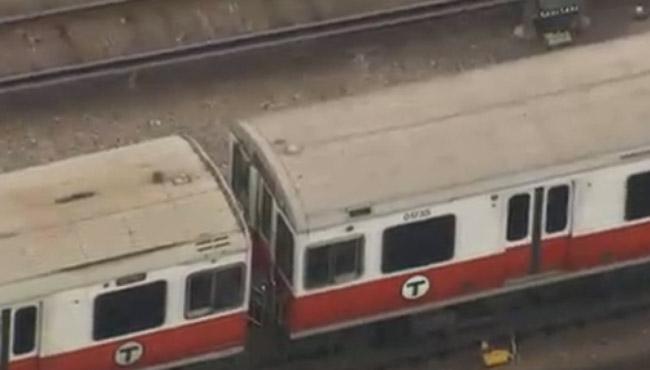 mbta red line train_307235