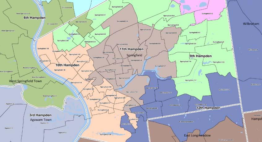 11th Hampden District map_398990
