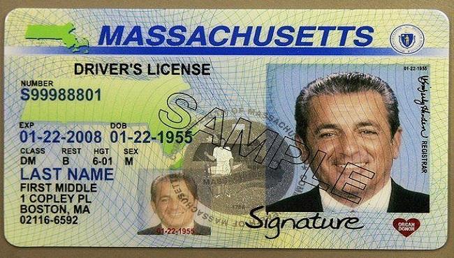 mass. driver's license sample_321957
