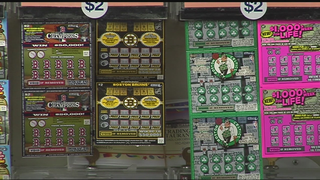 Massachusetts Lottery scratch ticket sales down from last year