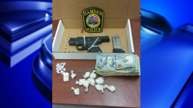 Gun reportedly stolen from MA found during CT drug bust