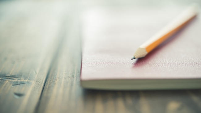Notebook and pencil_436509