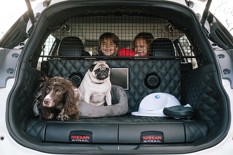 Nissan X-Trail 4Dogs – the 'pawfect' car for family advent_571063