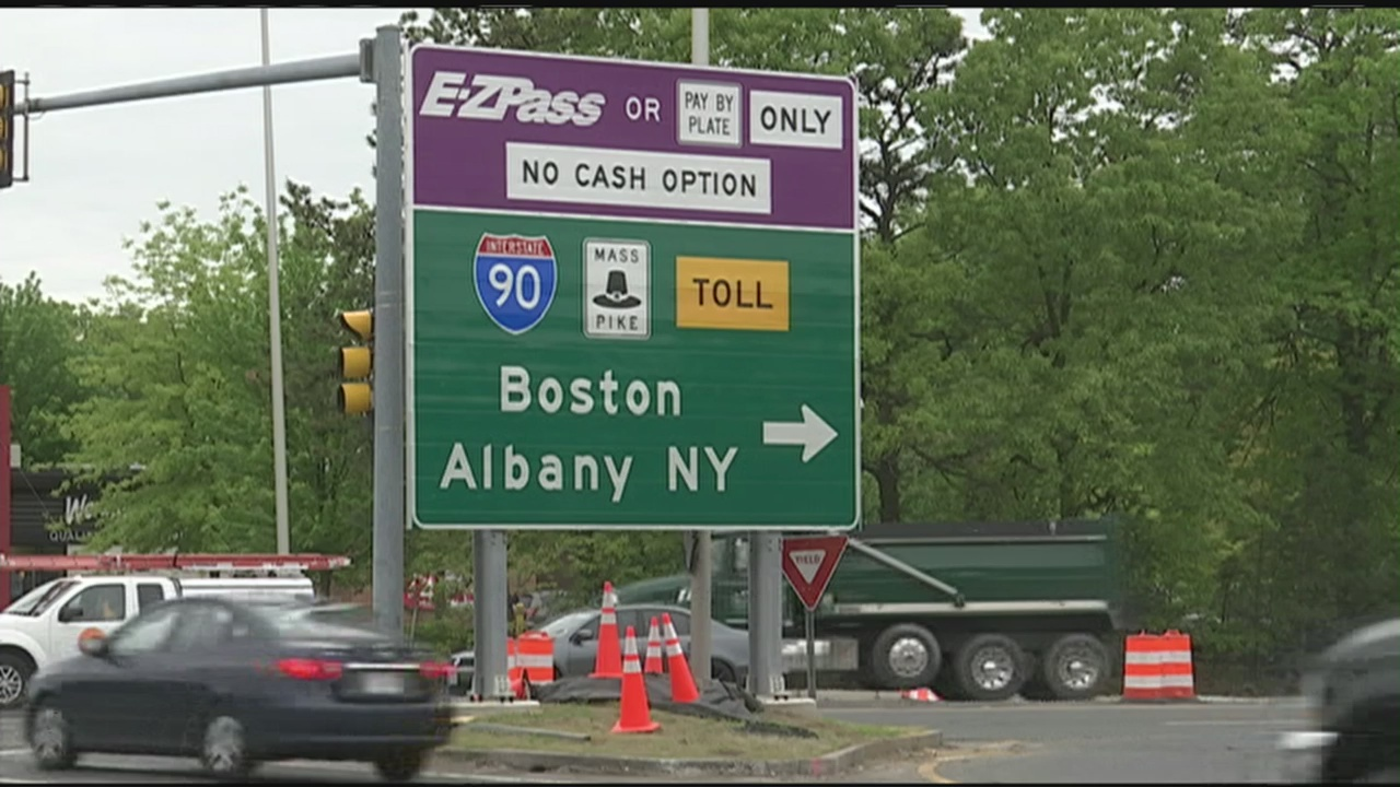 Mass Pike exit gap causing traffic in Westfield