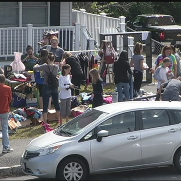 Monson holds town wide tag sale