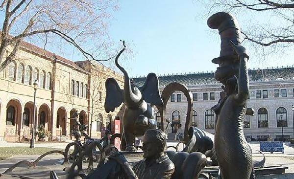 Quadrangle Dr. Seuss Memorial Sculpture Garden_333609