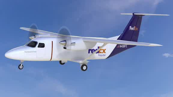 FedEx is purchasing dozens of flying delivery trucks._750859