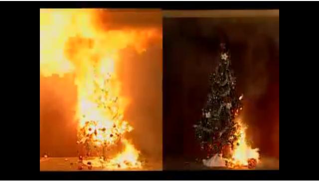 Christmas Tree Fire_749186