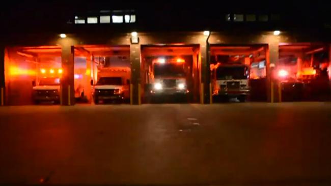 fire truck light show_753174