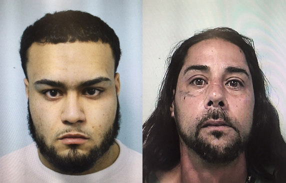 Brian A. Santiago of Springfield (left) and Javier R. Torres of Springfield (right)