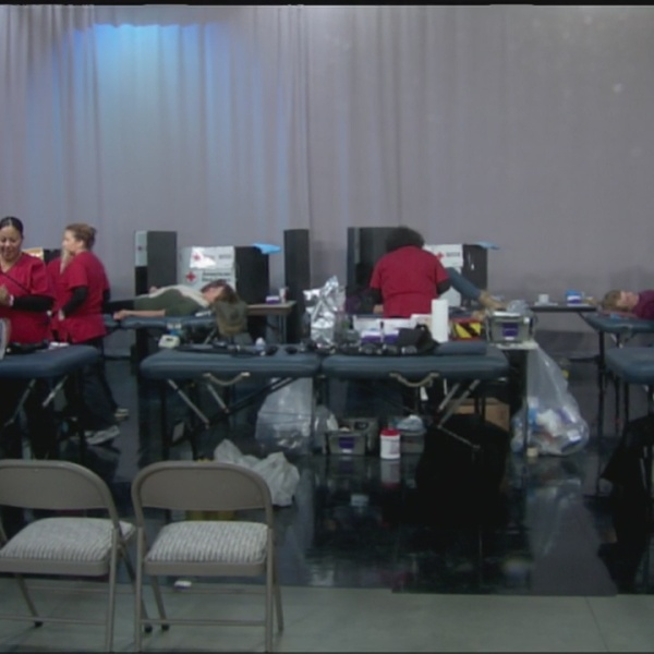 Red Cross Blood Drive at 22News a success