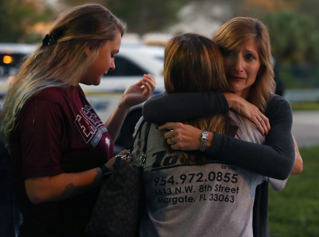 Florida Town Of Parkland In Mourning, After Shooting At Marjory Stoneman Douglas High School Kills 17_801321