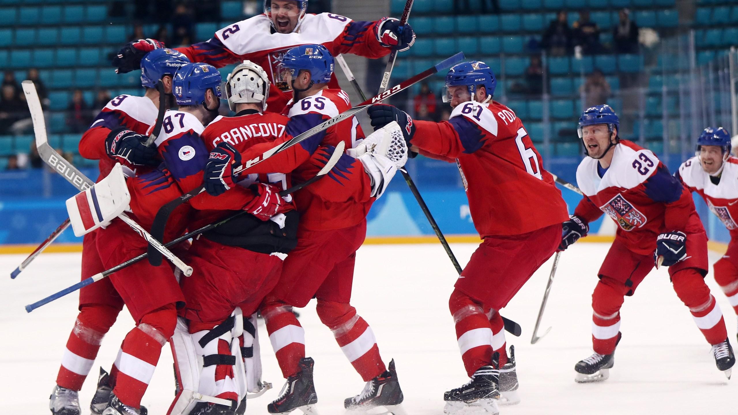 Ice Hockey – Winter Olympics Day 12_805366