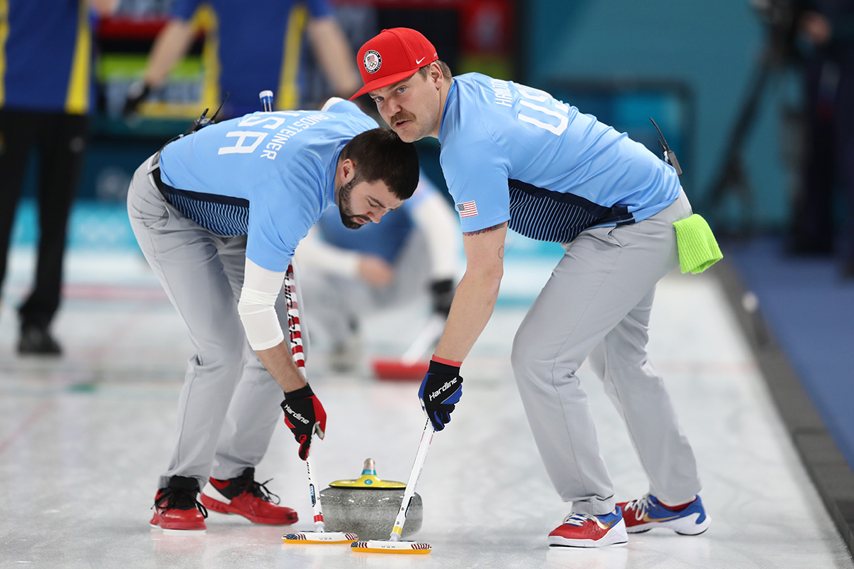 Curling – Winter Olympics Day 15_808117