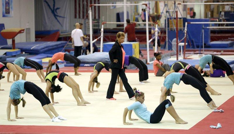 gymnastics AP News_808009