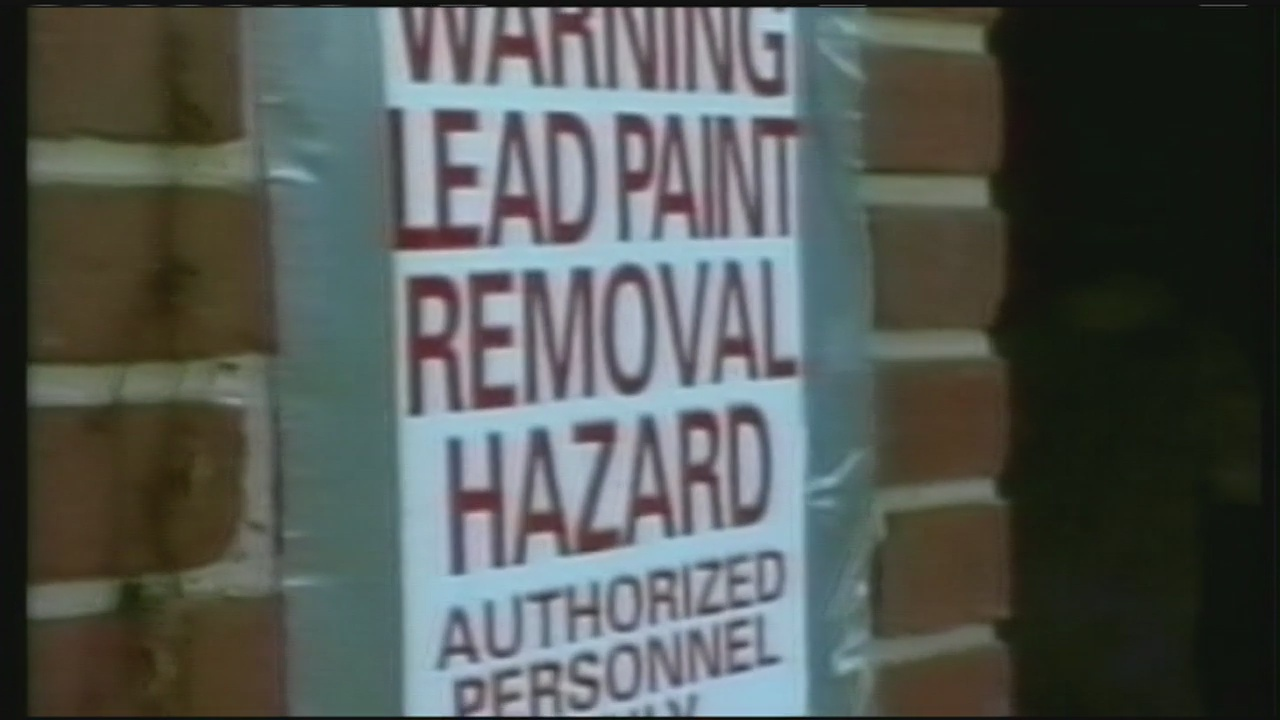 lead paint removal sign_804589