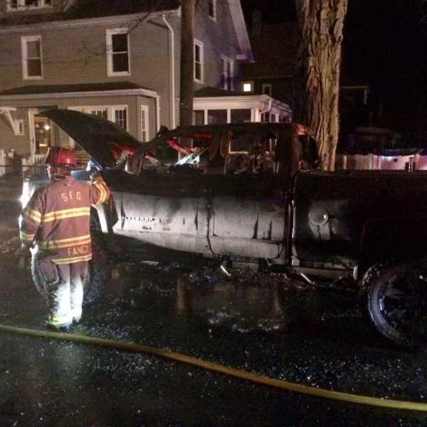Springfield car fire_802825