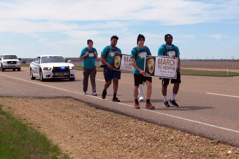 Teens begin Mississippi-to-Memphis march in honor of King_1522573283210.jpeg.jpg