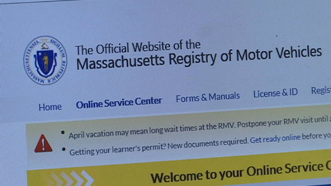 Rmv Warns Consumers Of Third Party Website Scams Wwlp
