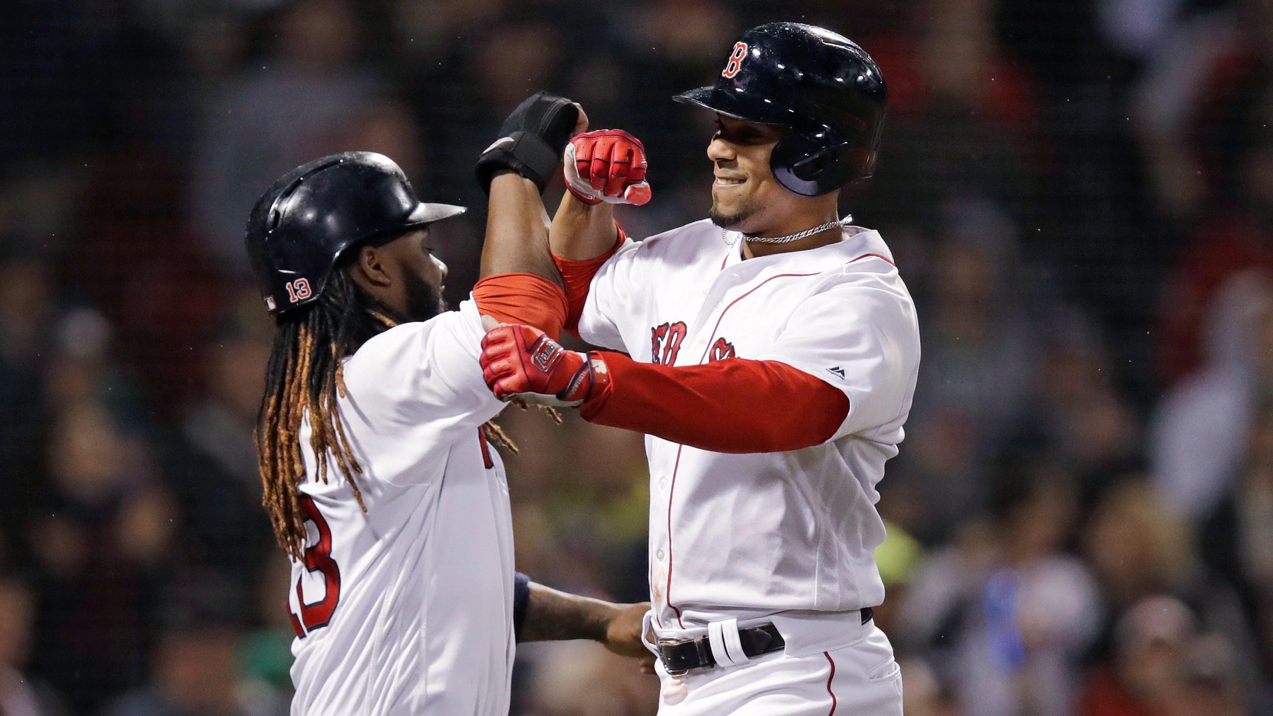 Athletics Red Sox Baseball_1526552677739