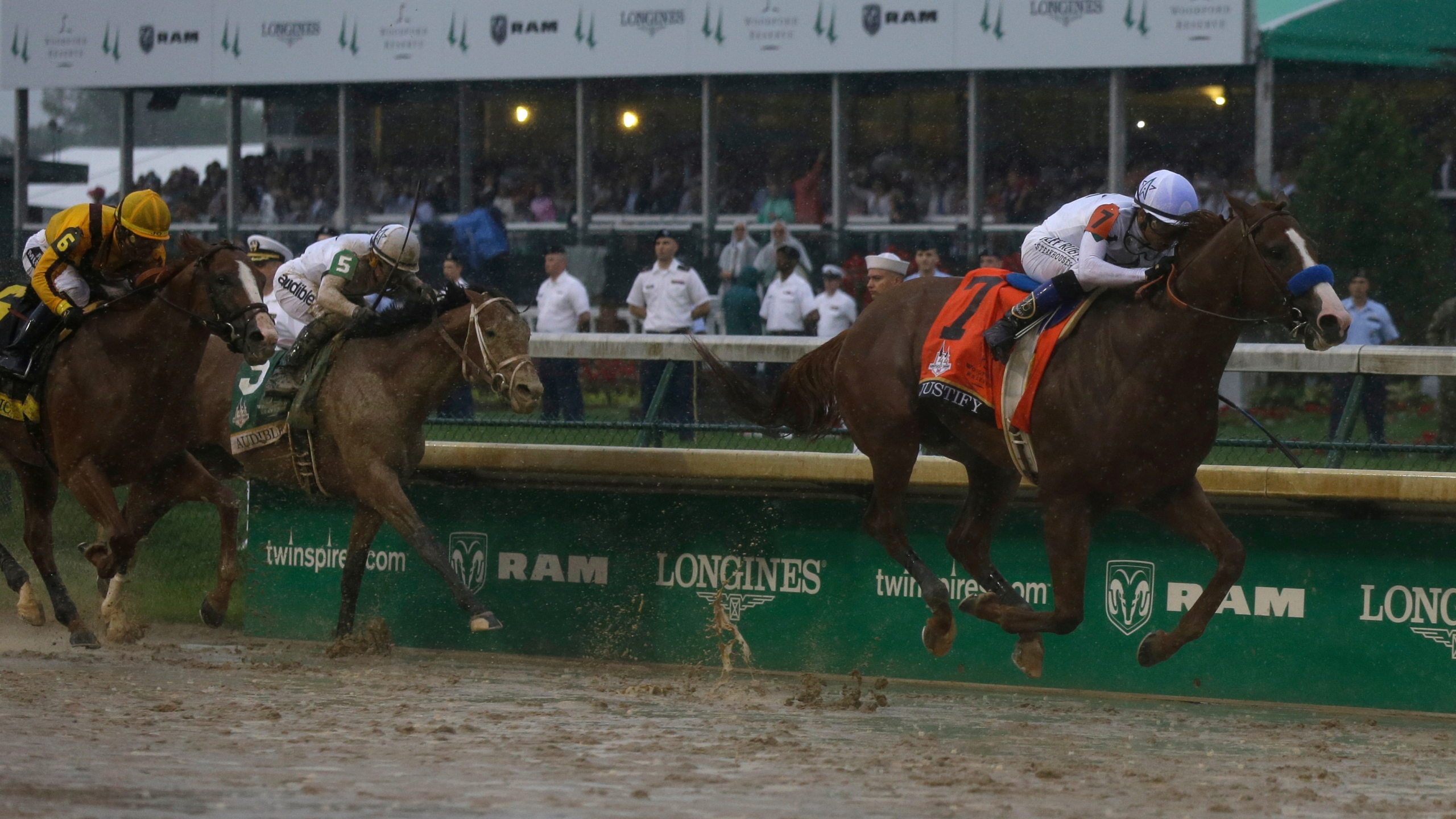 Kentucky Derby Horse Racing justify mike smith