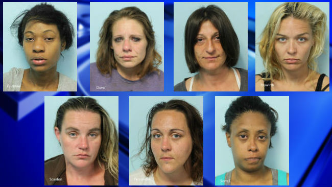 Springfield Ma Escorts >> 7 Women Arrested On Prostitution Charges In Springfield