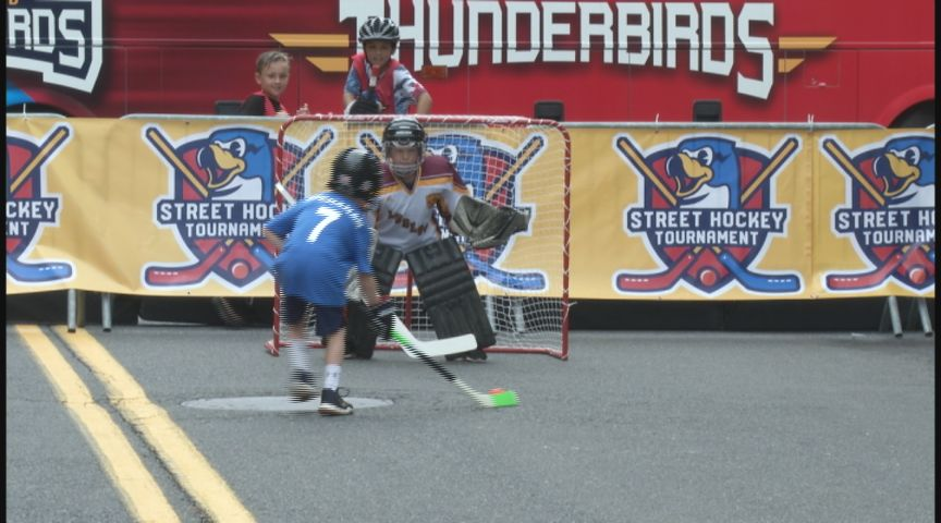 First Ever Thunderbirds Street Hockey Tournament Honors Late Local Fan