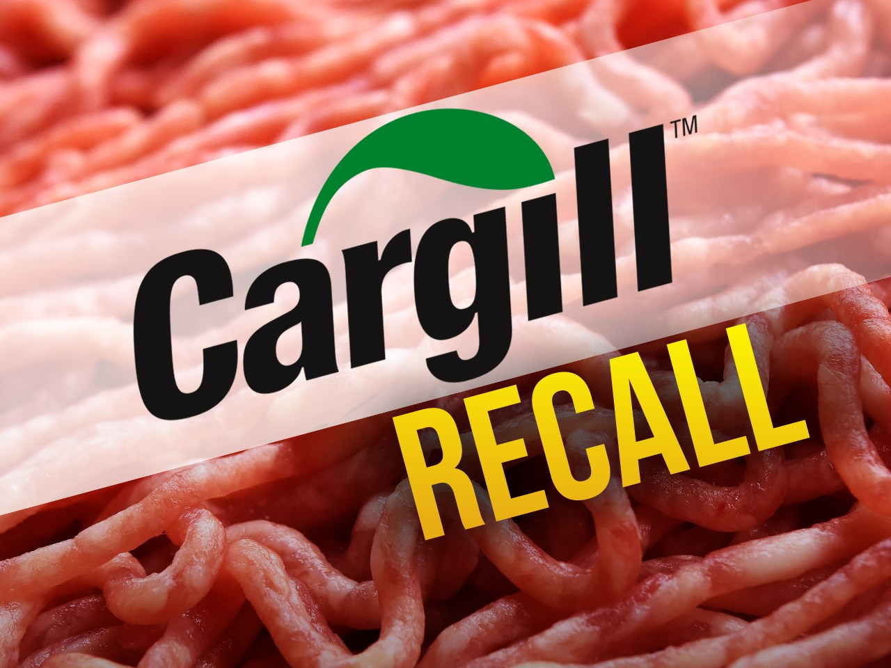 Cargill beef recall