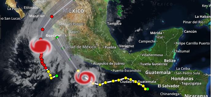 Hurricane Willa Track