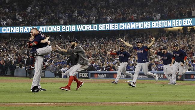 APTOPIX World Series Red Sox Dodgers Baseball_1540802783857