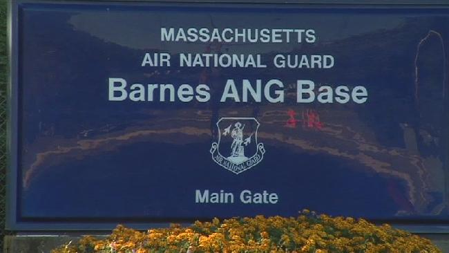 Barnes ANG Base holding firearms training this weekend