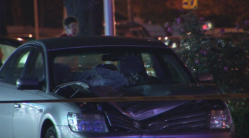 Police: Man dead after being struck by car on Plainfield St  in