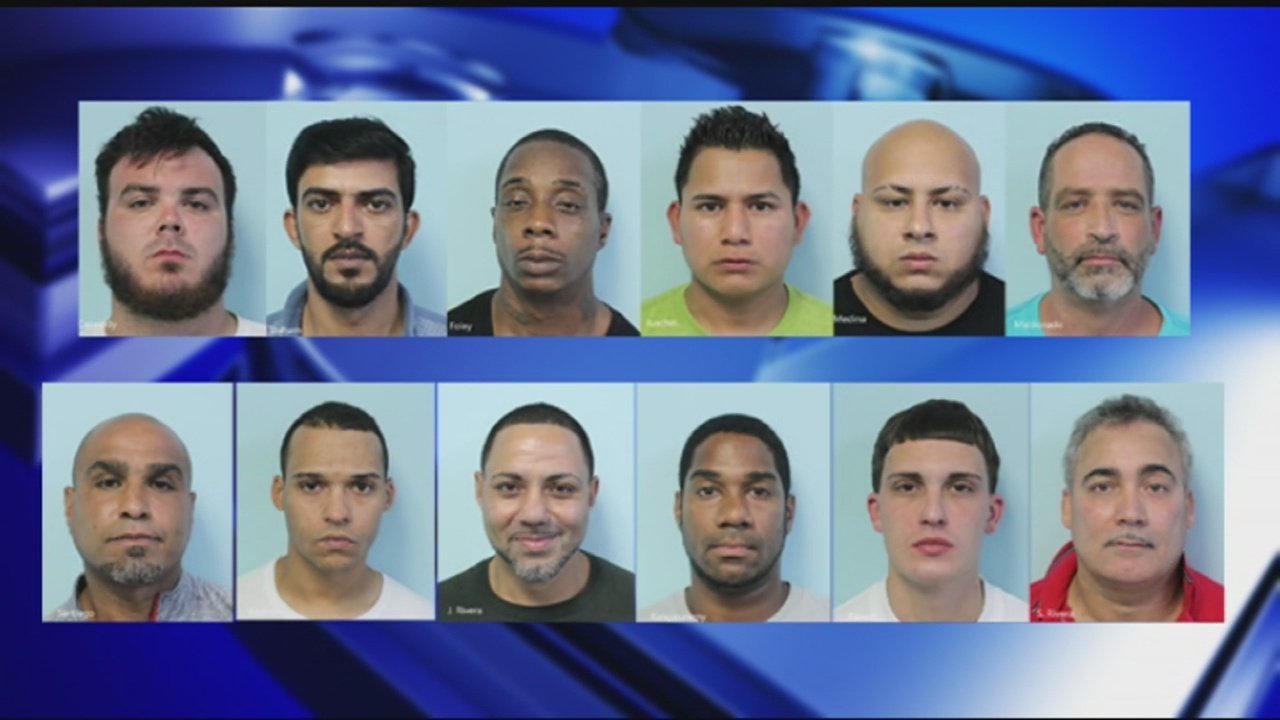 Springfield police arrested more than a dozen men on Wednesday as they continue to crack down on soliciting prostitution in the city.