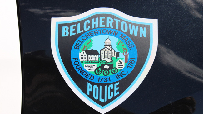 Belchertown police car
