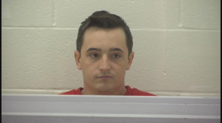 Blake Scanlon arraignment