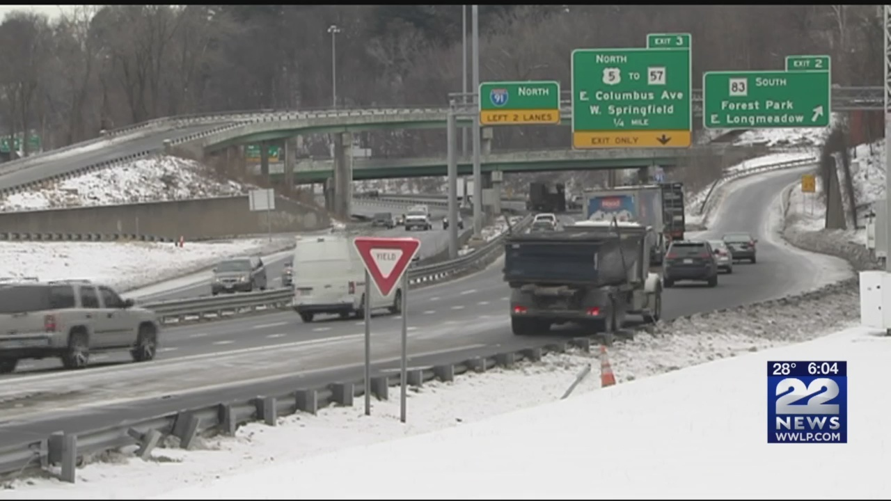 I-91 merge in Longmeadow leads to frequent backups, accidents