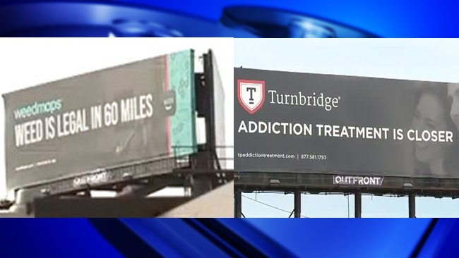 Attention-grabbing weed billboards up in Massachusetts