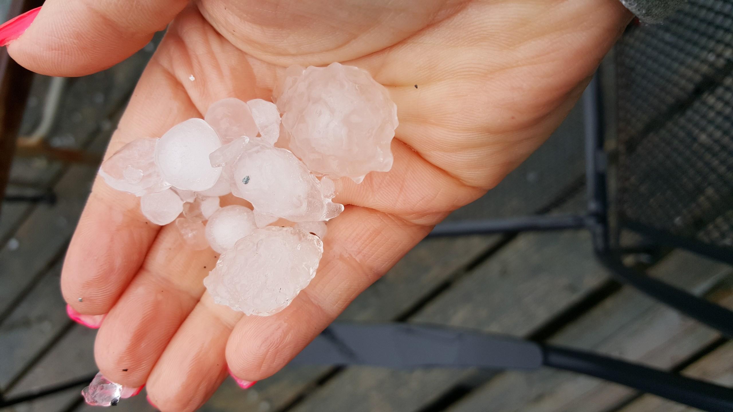 Hail in Wales from Lisa_1556307469755.jpg.jpg