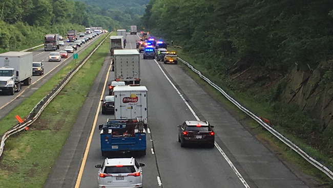 Serious injuries in crash on Mass Pike in Palmer   WWLP