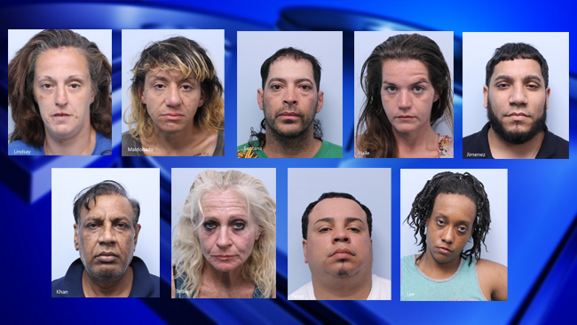 Springfield Ma Escorts >> 9 Arrested In Springfield Anti Prostitution Sweep Wwlp