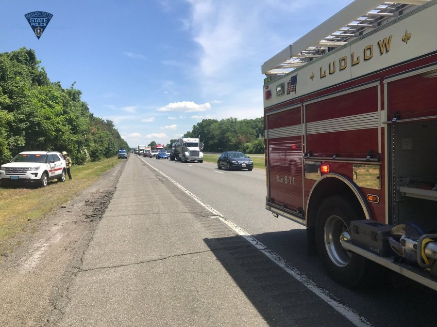 One person dead after accident on Mass Pike in Ludlow   WWLP