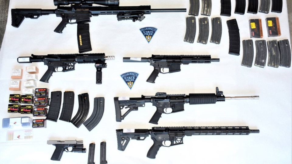 Police: Wrentham man assembled weapons, explosives at home