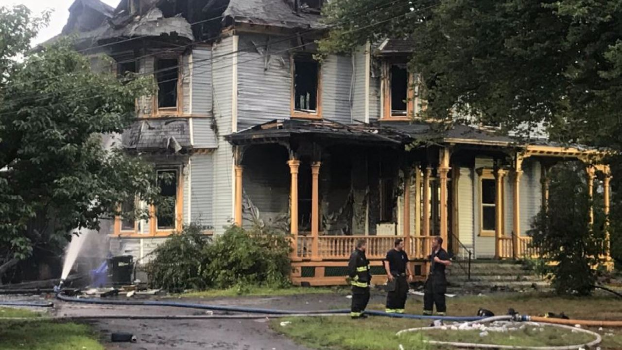 Community In Shock After Fire Destroys Historic Taunton Home