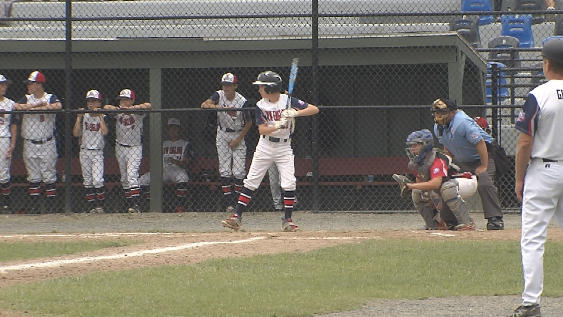 Parents and players enjoy Babe Ruth World Series