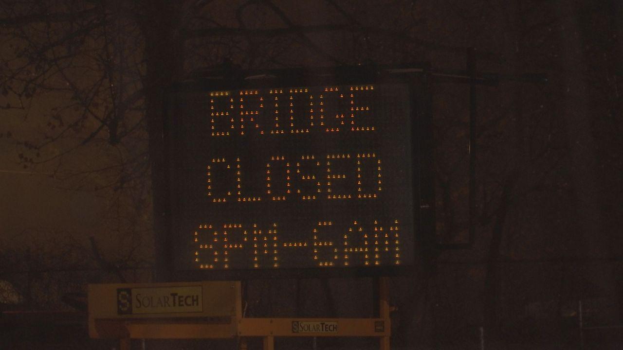 Morgan Sullivan Bridge To Remain Closed Through Monday