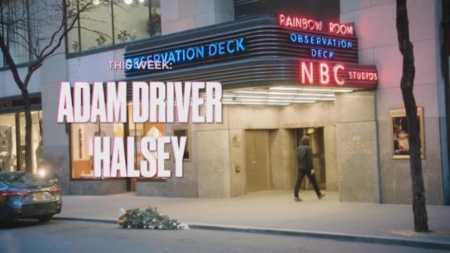 "Adam Driver returns to ""Saturday Night Live"""