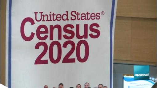 U.S. Census sign